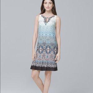 NWT WHBM Embellished Ombré Shift Dress